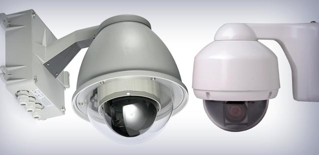 Speed Dome Mobese Hareketli güvenlik kameraları